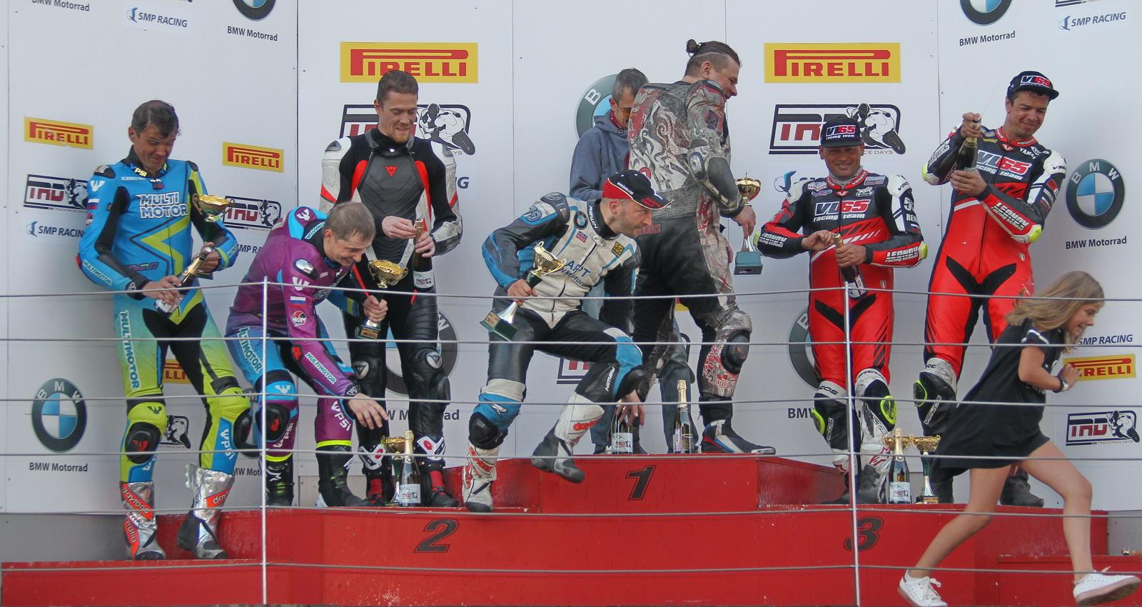 Байк Промоушен Спорт второй раз на высшей ступеньке, Multimotor и VL65 Racing Team в призах!