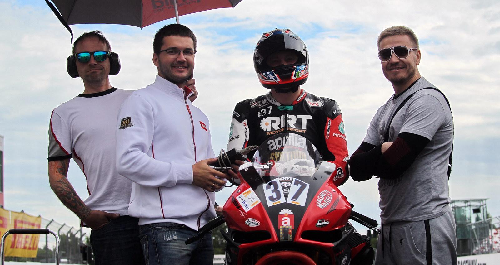 Сергей Григорьев - третий в списке пилотов, набравших до августа более 300 очков в Superbike