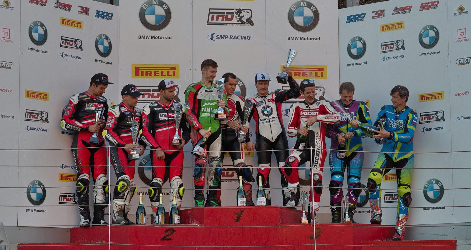 Победу в TRD Endurance 6H одержала команда TRD OTTO, VL65 Racing и Multimotor на подиуме!